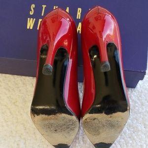 Stuart Weitzman Shoes - Red Quasar pumps